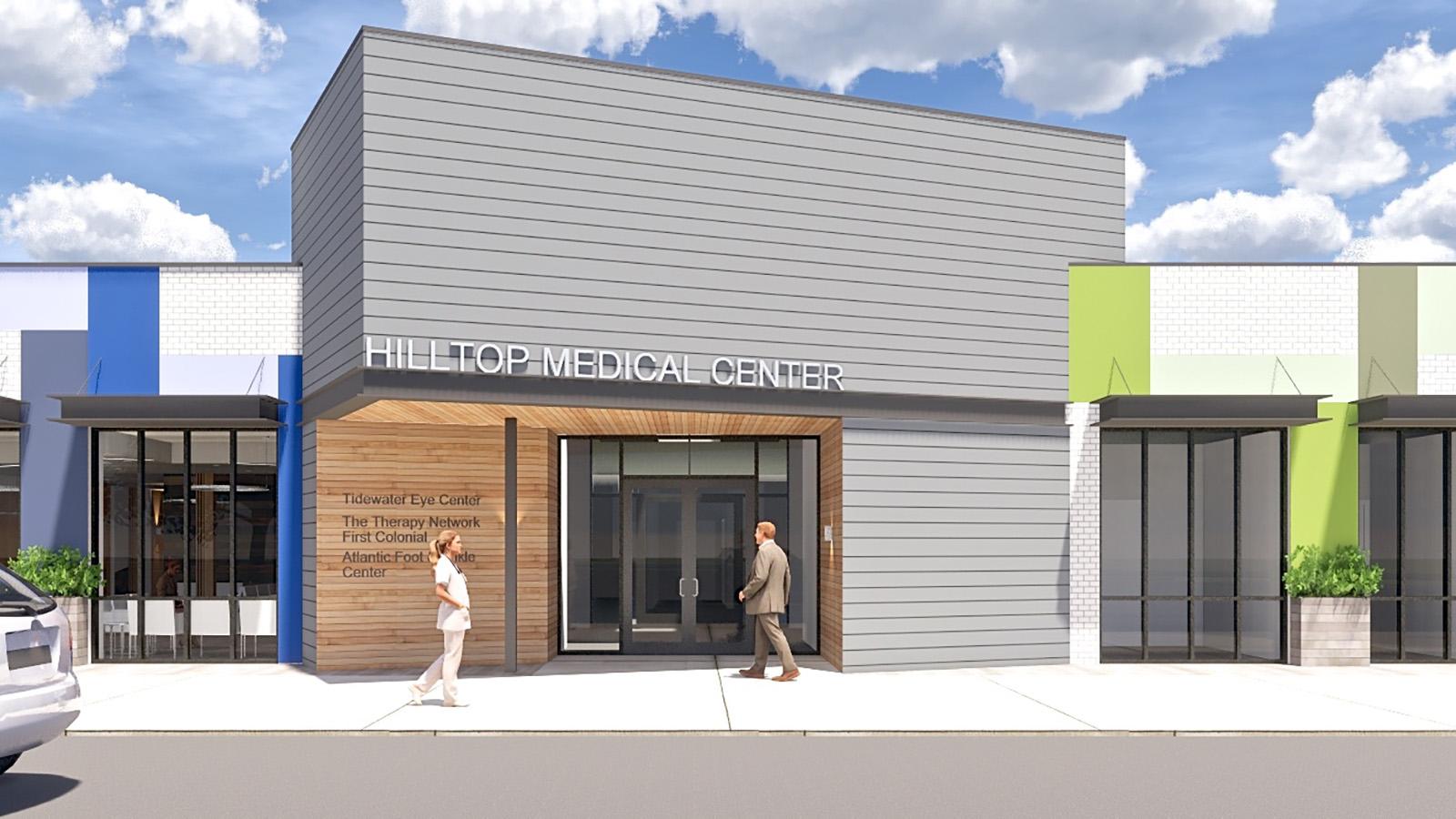 Hilltop Medical Center Mockup